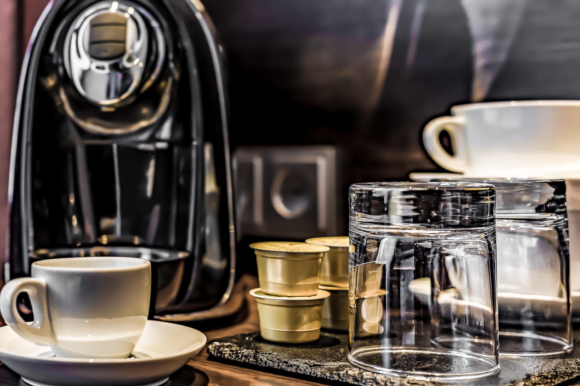 Zimmer eigene Kaffeemaschine