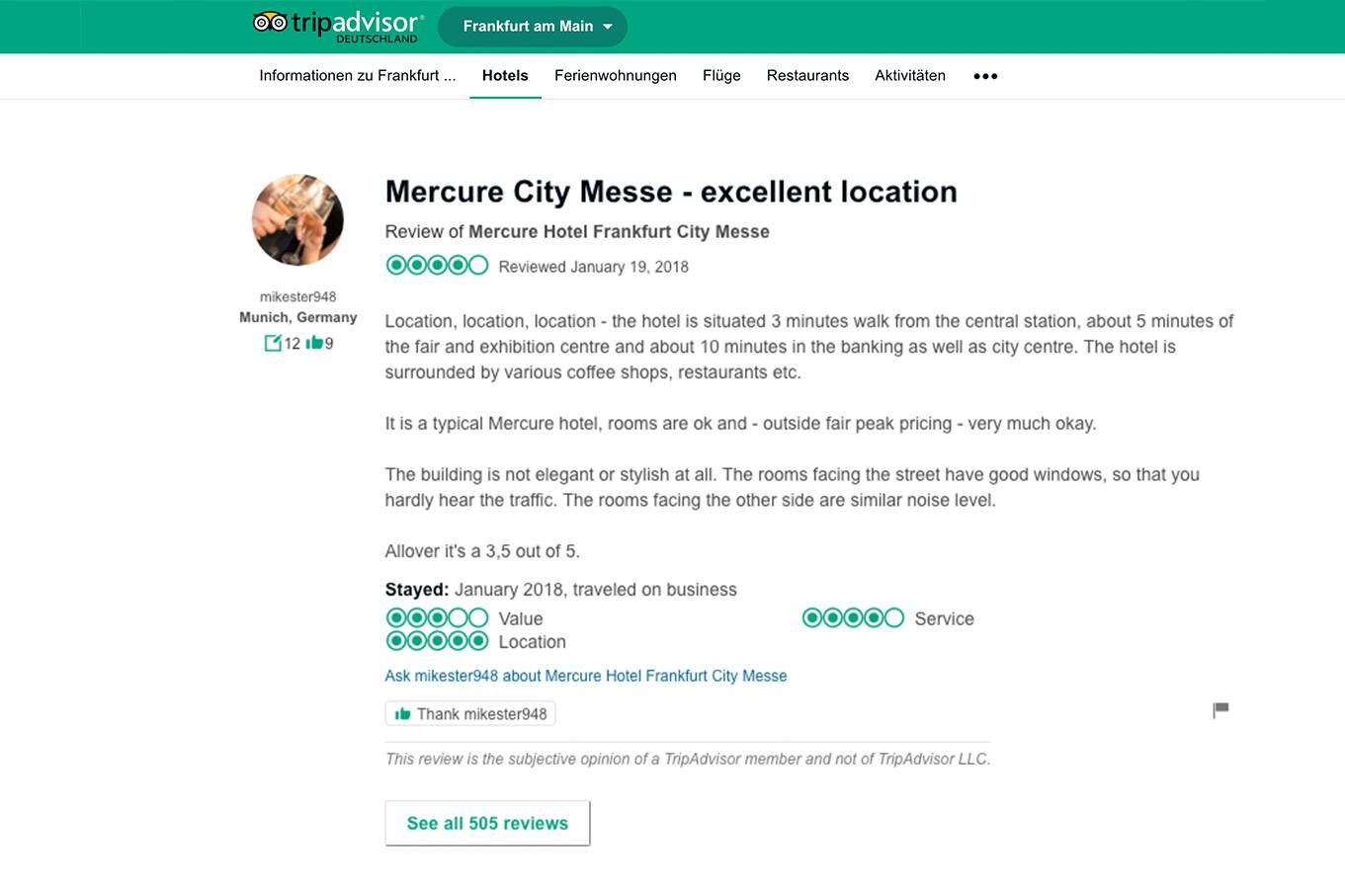 Home-EN - MERCURE HOTEL FRANKFURT CITY MESSE